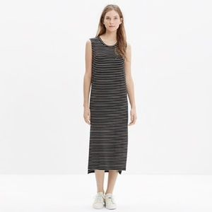 MadeWell Pullover Striped Dress